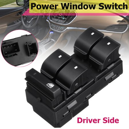 Front Left Driver Side Power Master Window Switch LH For GMC Acadia 2007-2016 25789692, 25951963, 20945129,20945224,MWSGMTR-4,641-00185L