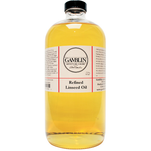 Gamblin - Refined Linseed Oil - 32 oz.