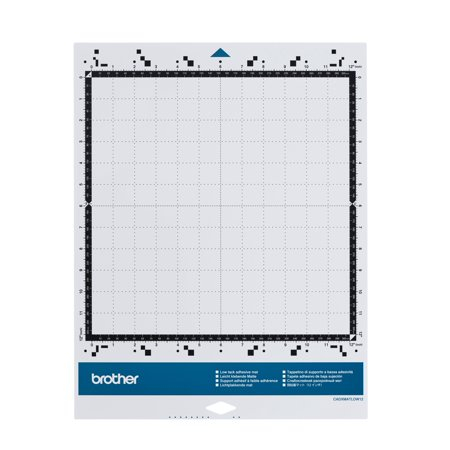 Brother CADXMATLOW12 Low Tack Adhesive Mat 12in x 12in