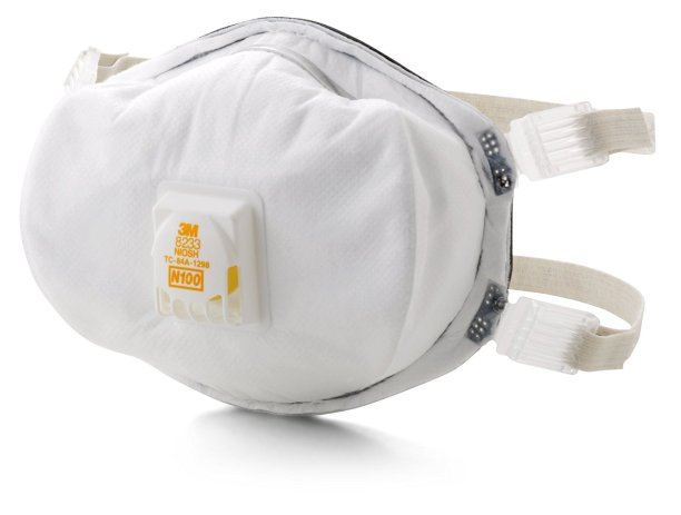 3M Particulate Respirator 8233, N100 by