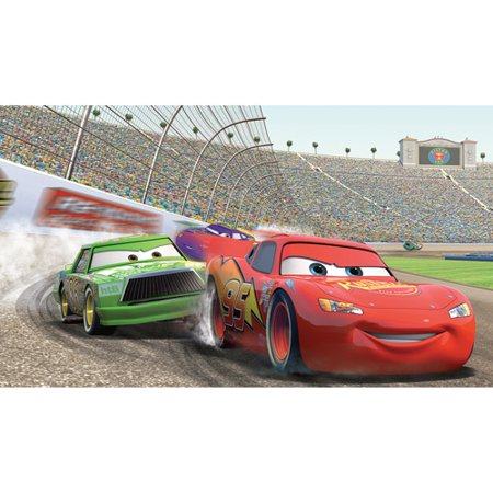 Roommates disney pixar cars xl wall mural for Disney cars mural uk
