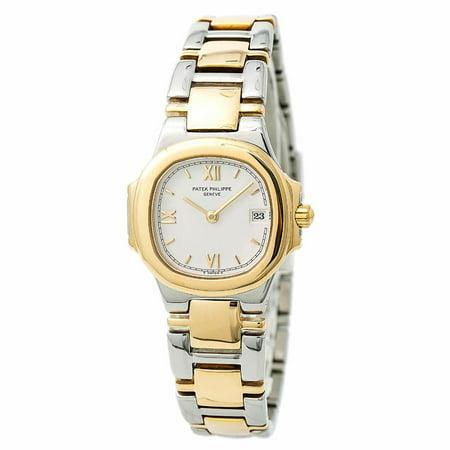 Pre-Owned Patek Philippe Nautilus 4700/15 Steel Women Watch (Certified Authentic & Warranty)