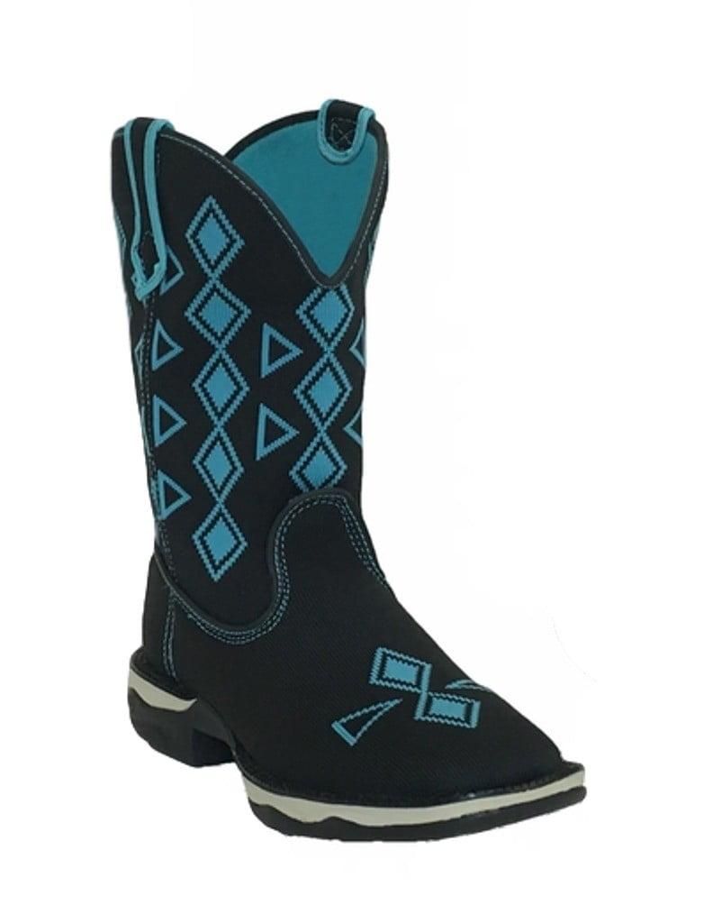 Laredo Western Boots Womens Venturer Woven Lightweight Black 5950 by Laredo