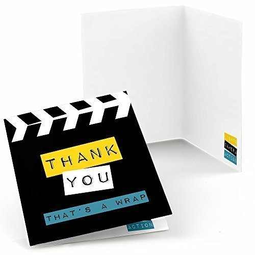 Movie - A Film in the Making - Graduation Party Thank You Cards (8 count)