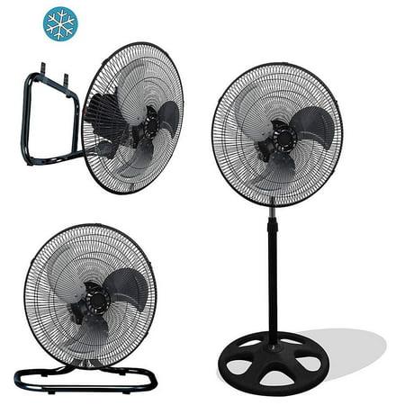 - Premium Large High Velocity Industrial Floor Fan 18