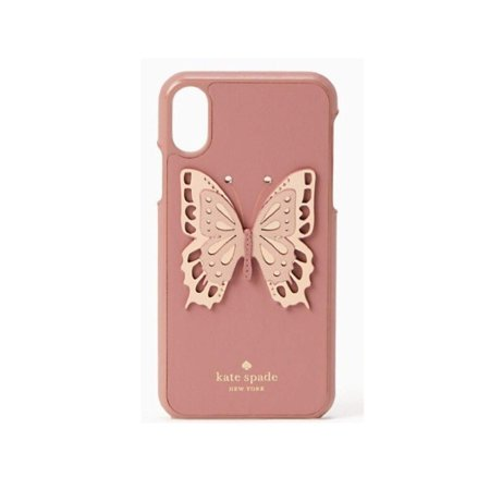 - Kate Spade New York Butterfly Applique Snap Case for iPhone Xs Max
