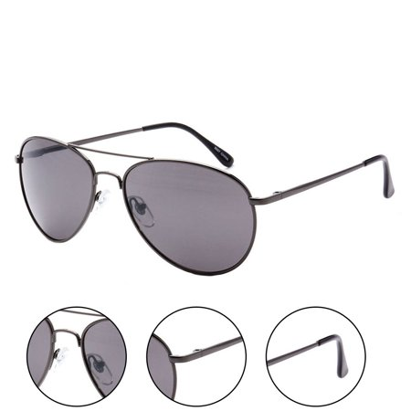 MLC Eyewear Ultra Light Weight Sport Aviator Sunglasses UV400 ()