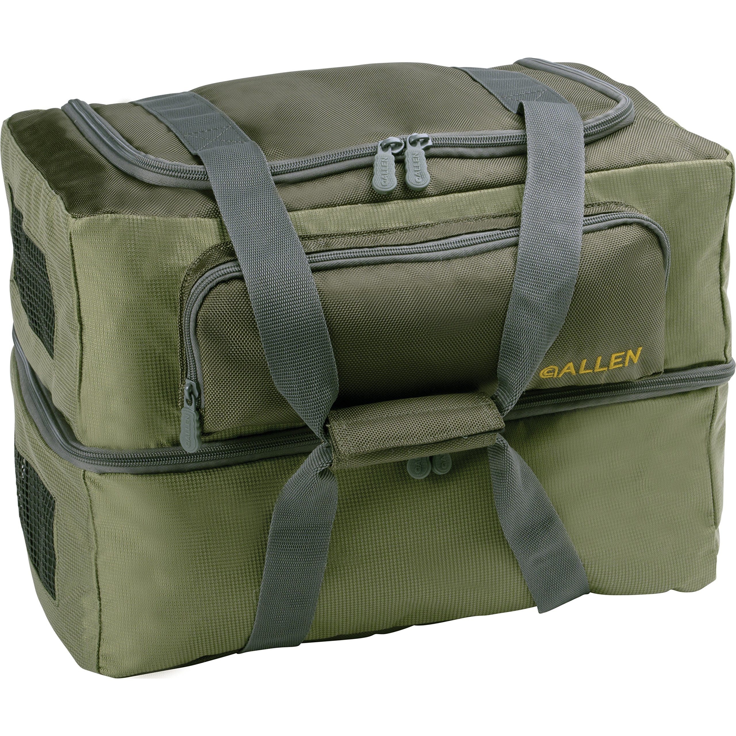 "Allen Twin Creek Carrying Case For Wader - Olive - Mesh Panel - 13"" Height X 12"" Width X 12"" Depth (6366)"