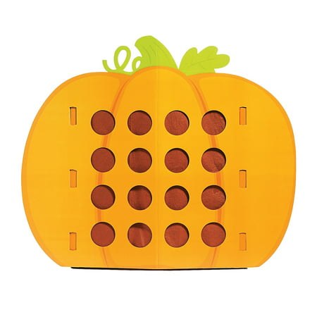 Fun Express - Pumpkin Punch Game for Halloween - Toys - Games - Carnival & Bingo - Halloween - 1 Piece