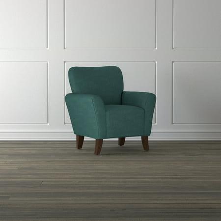 Excellent Handy Living Salida Peacock Blue Arm Chair Unemploymentrelief Wooden Chair Designs For Living Room Unemploymentrelieforg