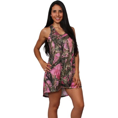 Women's Camo Tank Dress Authentic True Timber Made in the USA](Jelly The Pug Dress Sale)