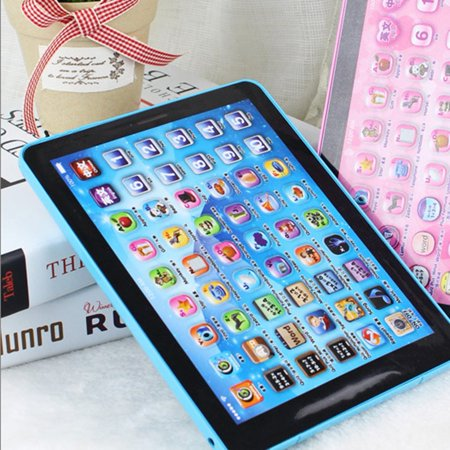(2018 NEW Upgraded Children Touch Tablet Pad Learning Reading Machine Early Education Machine For Kids Children Educational Learn English Chinese)