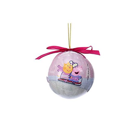 Peppa Pig Ball Ornaments (Peppa & Candy Love the Snow)