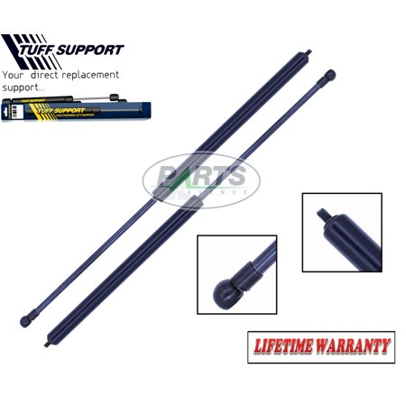 2 Pieces (SET) Tuff Support Rear Gate Trunk Hatch Lift Supports 1992 To 1995 BMW 530i / 530iT / 525i / 525iT E34 (Station Wagon Only) 1995 Bmw 525i Exhaust