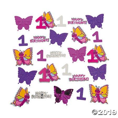 1st Birthday Butterfly Confetti - Butterfly Confetti