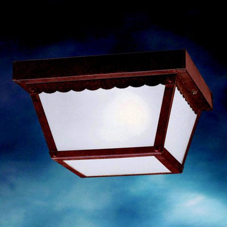 Kichler Outdoor Ceiling Light - Kichler Outdoor Miscellaneous 345 Outdoor Ceiling - 9.25 in.