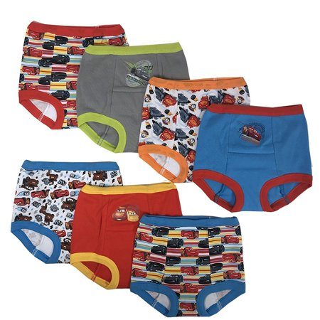 69c4fdb4bc Handcraft - Disney Cars Boys Potty Training Pants Underwear Toddler 7-Pack  Size 2T 3T 4T - Walmart.com