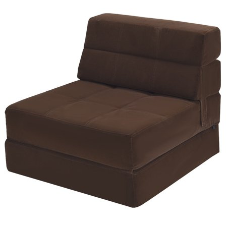 Costway Tri Fold Fold Down Chair Flip Out Lounger