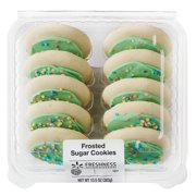 Freshness Guaranteed Frosted Sugar Cookies, 13.5 oz, 10 Count