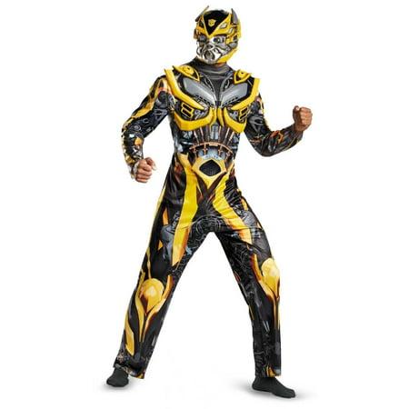Adult Deluxe Bumblebee Transformers Autobots Soldier - Deluxe Bumblebee Costume