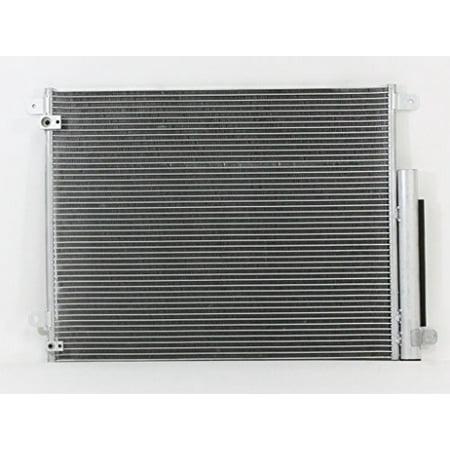 A-C Condenser - Pacific Best Inc For/Fit 30007 16-18 Honda Civic 2.0L w/Receiver & (Honda Hrr216k9vka Best Price)