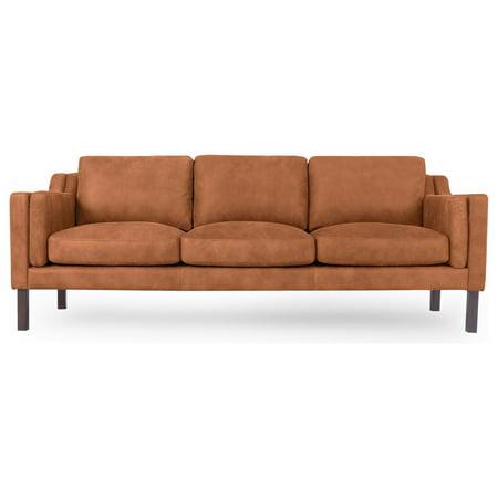 Outstanding Kardiel Monroe Mid Century Modern 87 Sofa Full Grain Gamerscity Chair Design For Home Gamerscityorg