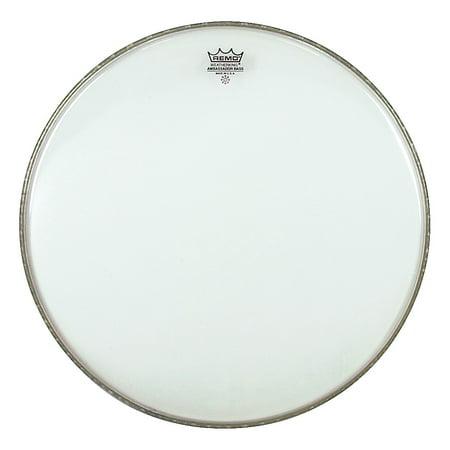Remo Clear Ambassador Bass Drum Batter Head - BR132200 22