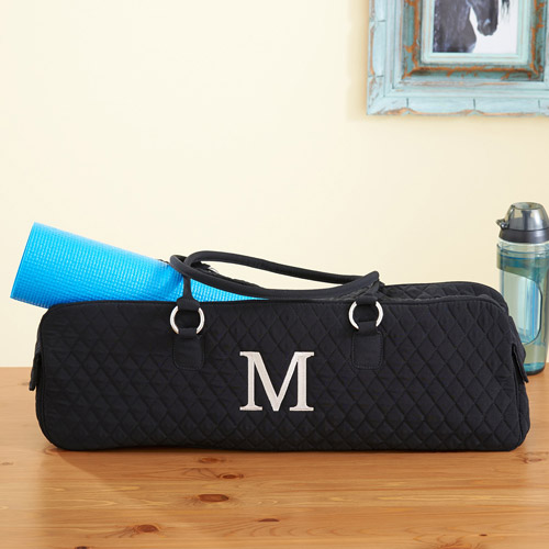 Personalized Quilted Yoga Bag