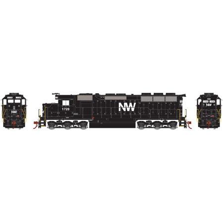 Athearn 65029 HO Norfolk & Western SD45 Diesel Locomotive RTR #1728
