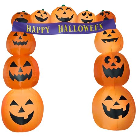 Archway Pumpkins Airblown Halloween Decoration](Printable Halloween Pages)