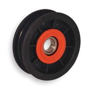 FENNER DRIVES FA3501 V-Belt Idler Pulley, 5/8 In Flat Belt
