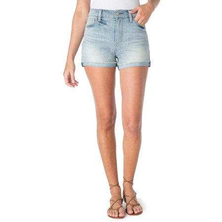 Signature By Levi Strauss   Co  Womens High Rise Shortie