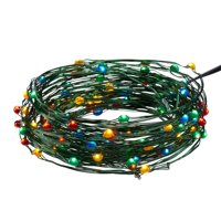 Holiday Time 33 ft, 100 Count Multicolor LED 8 Function String Christmas Lights