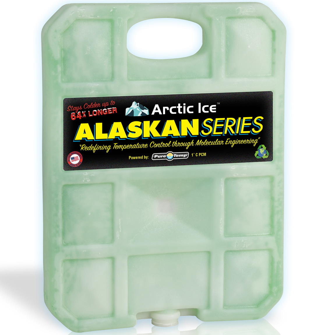 Arctic Ice 2.5 lb Alaskan Series Reusable Cooler