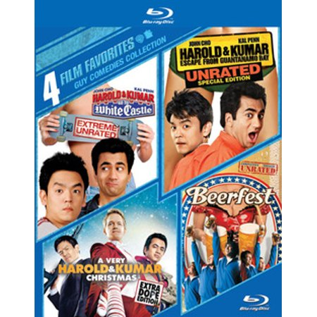 4 Film Favorites: Guy Comedies (Blu-ray) (The Best Pick Up Lines For Guys)