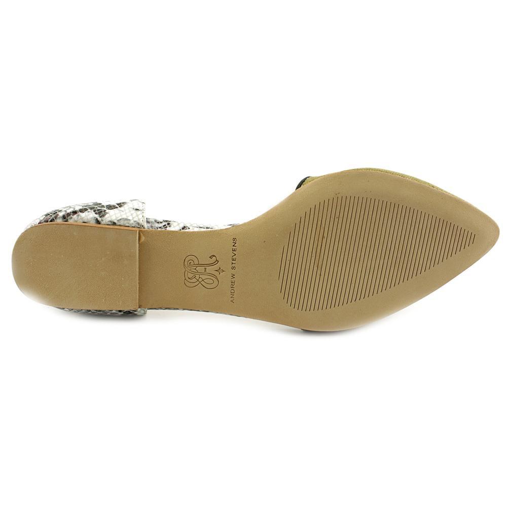 Andrew Stevens Dakota Leather Women  Pointed Toe Leather Dakota  Flats 6ec7d7