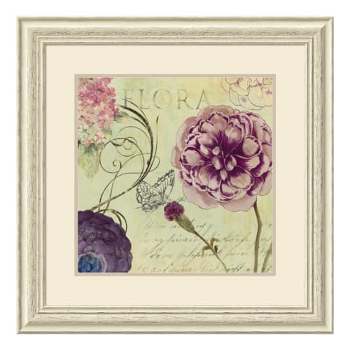 "Amanti Art DSW1408593 28-1 2 Inch x 28-1 2 Inch ""Flora"" Framed Artwork Print on... by Amanti Art"