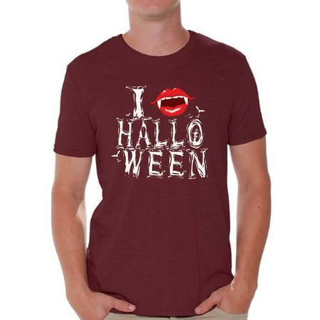 Awkward Styles Men's Halloween Graphic T-shirt Tops I Fangs Halloween Vampire Fangs](Vampire Clothes For Men)