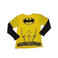 DX-xtreme - Little Boys Long Sleeve Top yellow batman / 4