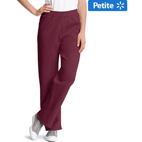 Hanes Women's Petite Fleece Sweatpants