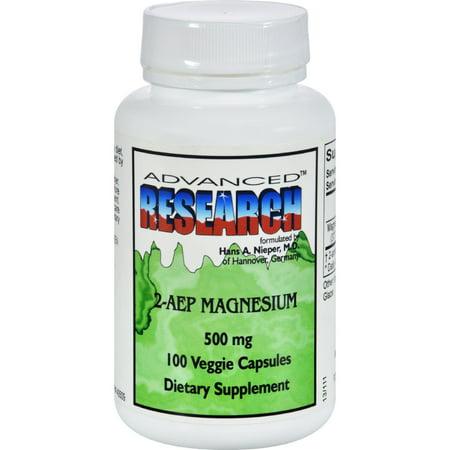 Research Magnesium (NCI Dr. Hans Nieper 2AEP Magnesium - 500 mg - 100 Capsules )