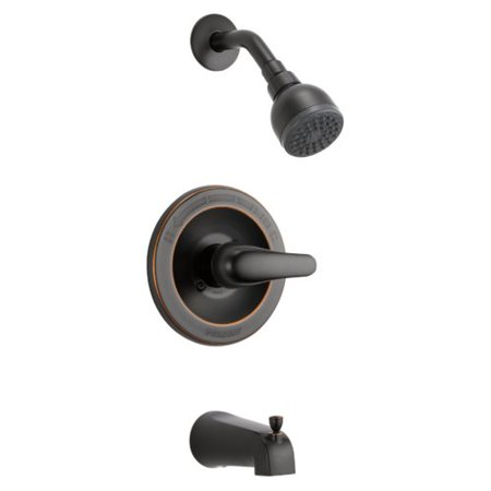 Peerless Single Handle Tub and Shower Faucet Trim in Oil Rubbed Bronze PTT188750-OB