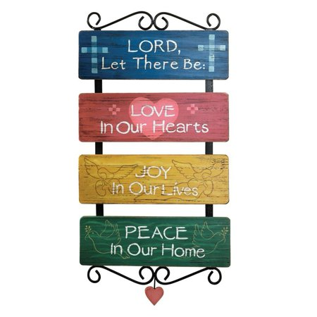 Religious Inspirational Sayings Wall Art - Walmart.com