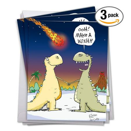 Snail Mail Birthday Card Set 3 Pack Of Jumbo