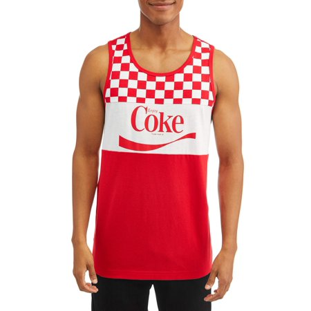 Coca-cola Men's coke licensed graphic tank, up to - Cos'e Halloween