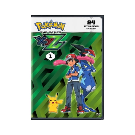 Pokemon the Series: XYZ Set 1 (DVD) (The Best Xyz Monsters)