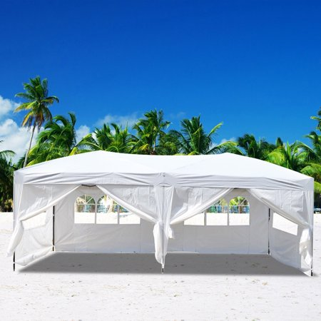 Ubesgoo 10 X20 Ez Pop Up Wedding Party Tent Folding
