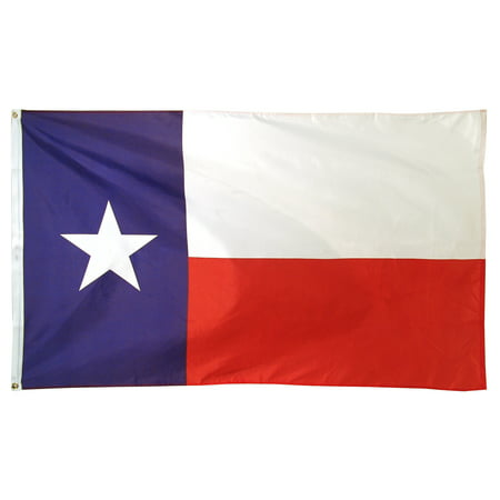 3ft x 5ft Texas Flag - Printed - Texas Rangers Car Flag