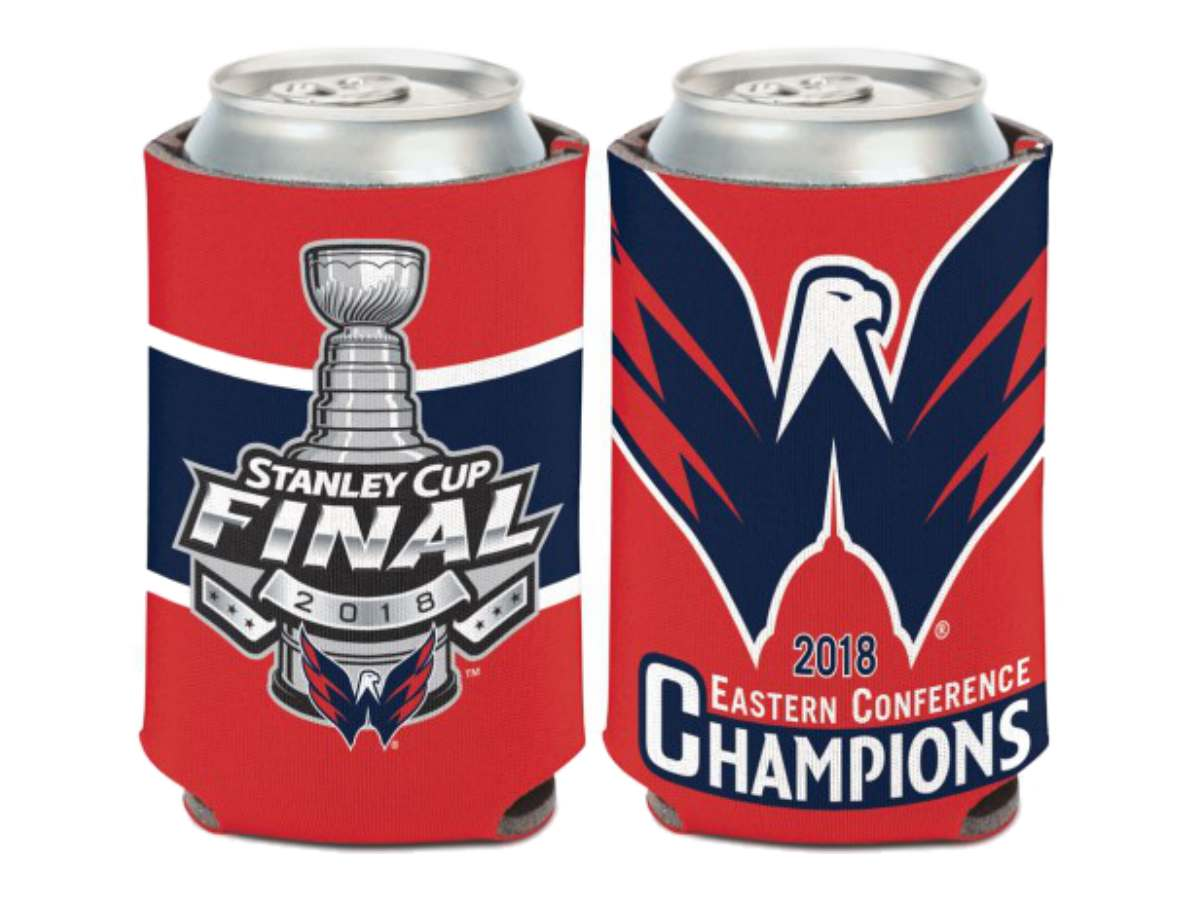 Wincraft NHL Washington Capitals 12 oz 2-Sided Can Cooler