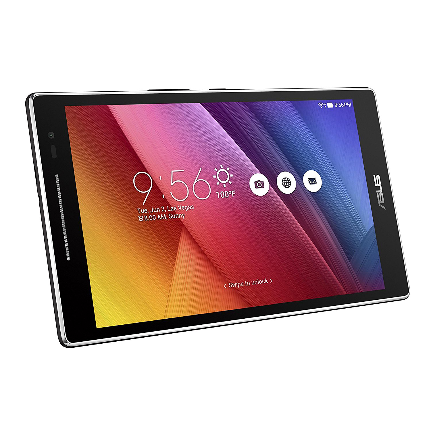"""Refurbished ASUS ZenPad 8"""" Touch IPS Android Tablet Quad Core 1.3GHz 2GB 16GB w/ Dual Cams"""